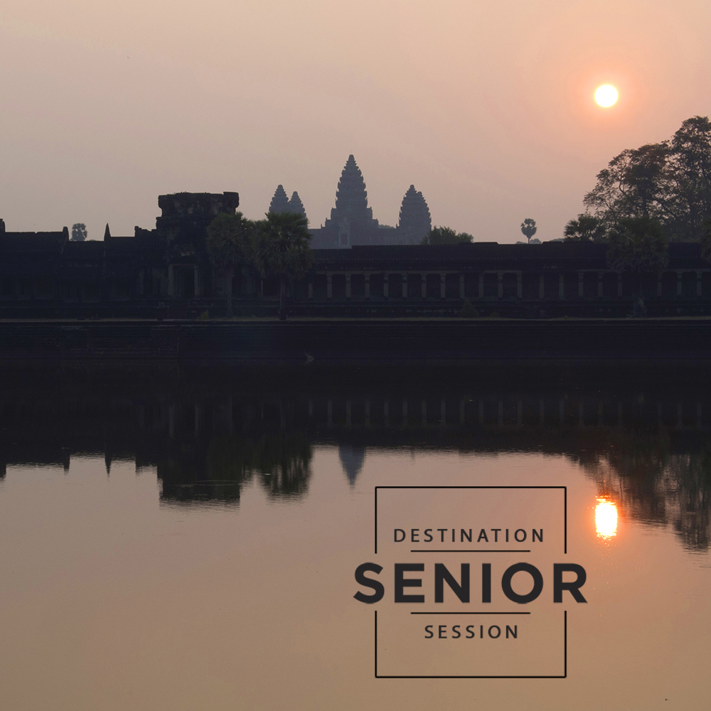 Angkor Wat Cambodia - destination senior portraits