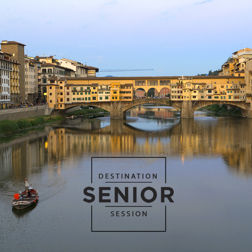 Florence Italy - destination senior photo shoot
