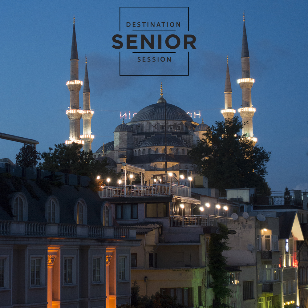Istanbul Turkey - destination senior photography session