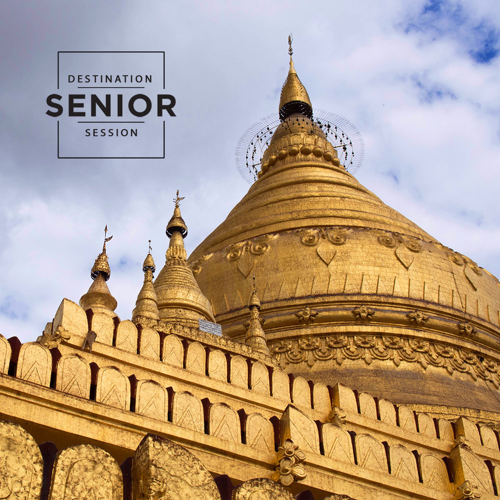 Mandalay Myanmar - destination senior portrait session
