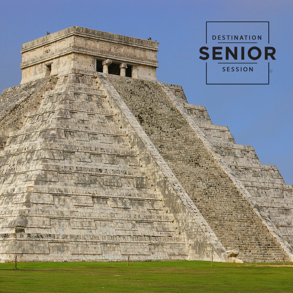 Chichen Itza Mexico - destination senior photo session