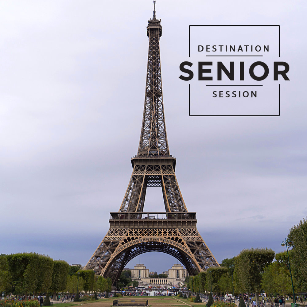 Paris France - destination senior portraits