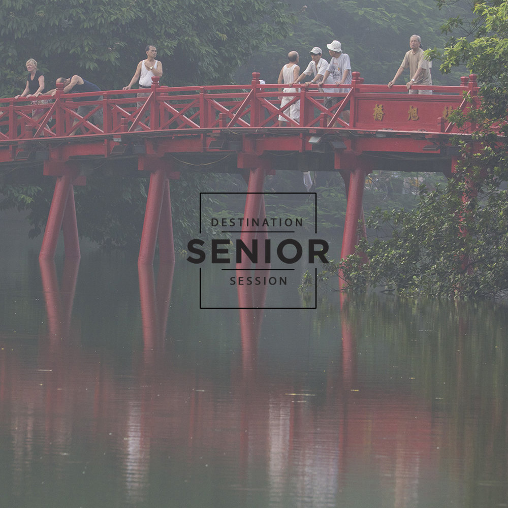 Hanoi Vietnam -destination senior portrait session
