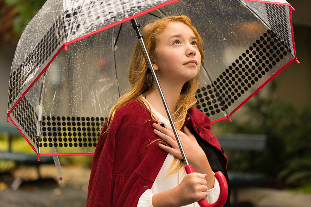 girl with umbrella - SF bay area lifestyle photographer