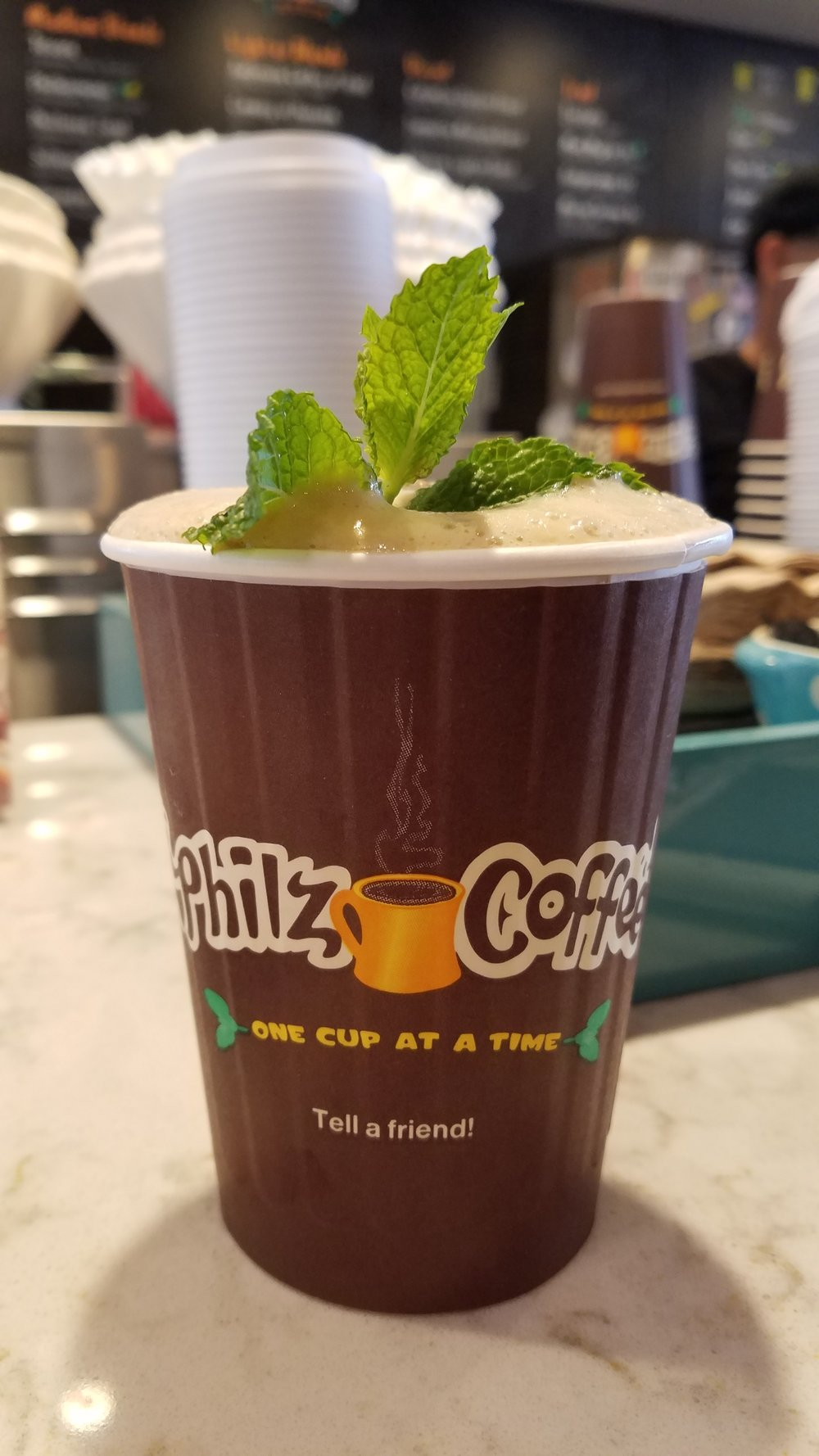 Philz Coffee Mint Mojito is a MUST if you visit the bay.