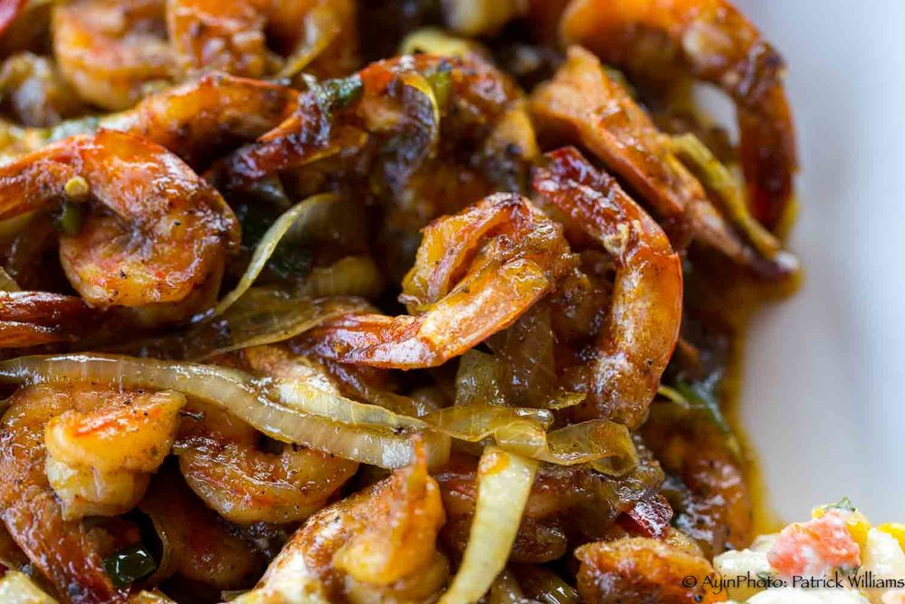 Honey Jerk Shrimp