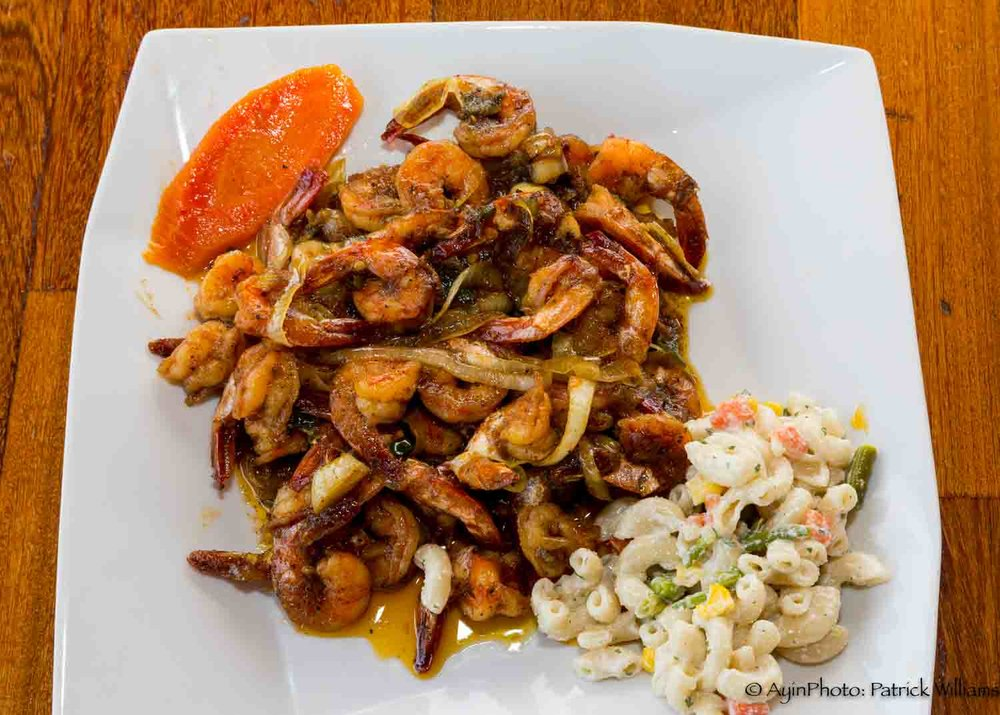 Jamaican Honey Jerk Shrimp