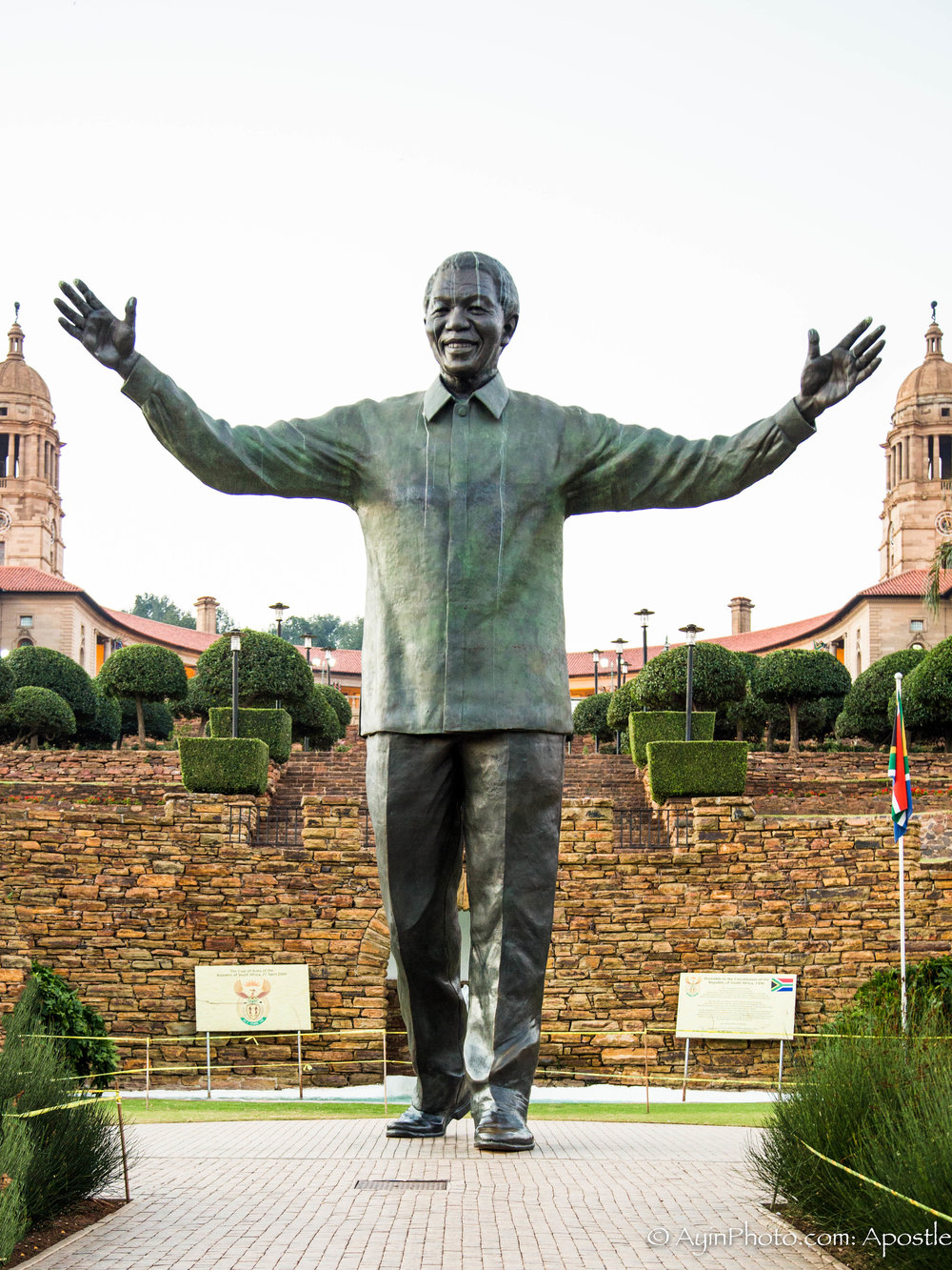Mandela Statue - Union Square, South Africa