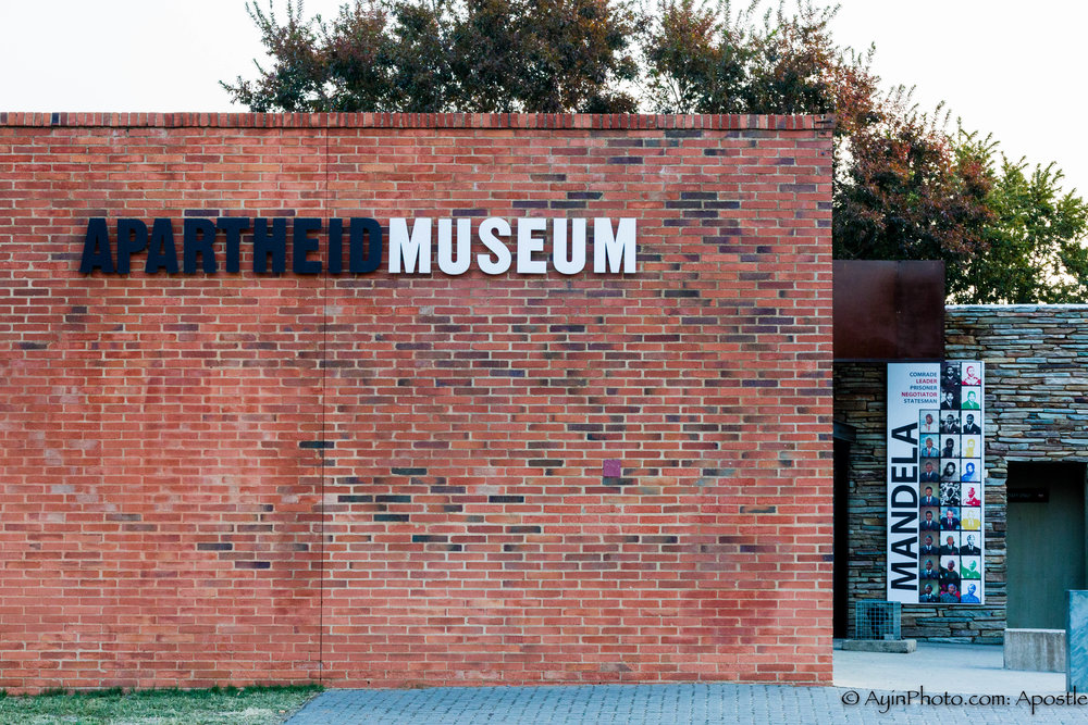 Apartheid Museum - Entrance
