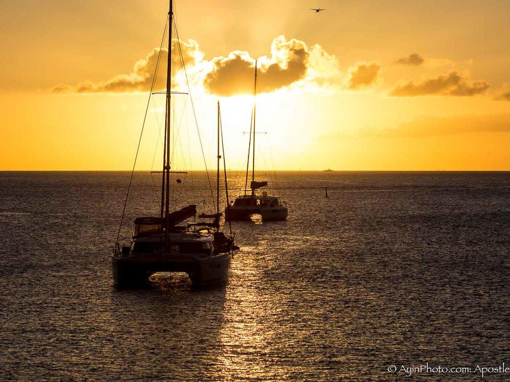 St Martin Sunset