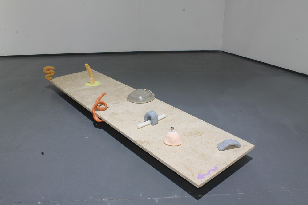 Installation Images from  In the Pink, 2017. Pippa Eason &Joe Cotgrave, Serf, Leeds