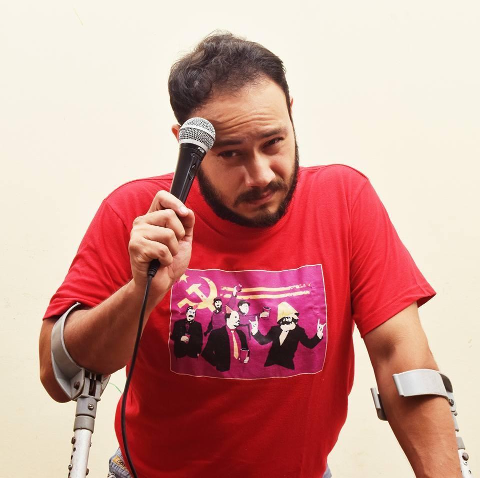 Esteban Masís - ComedianteEditor Revista Pa'lante