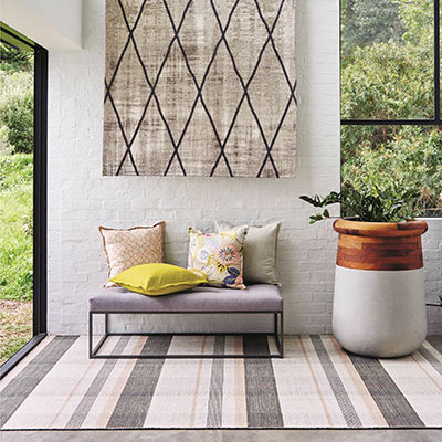 HERTEX PLAID RUGS