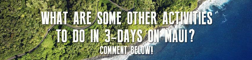 3 days Maui