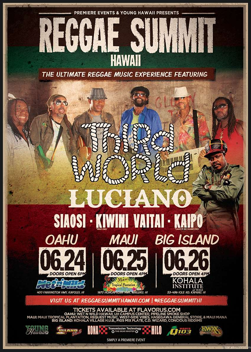 Reggae Summit Hawaii