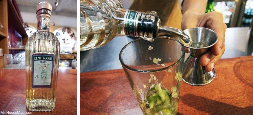 gran centenario plato tequila