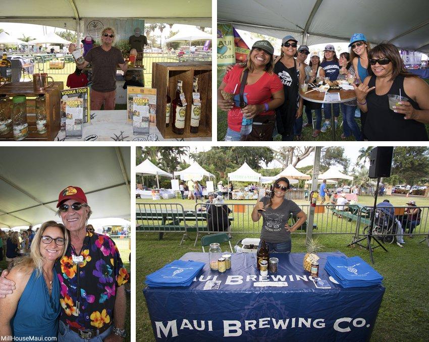 cocktail tent Maui Hawaii