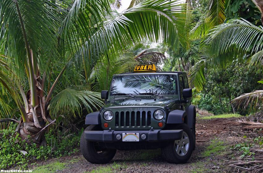 Uber Maui Hawaii
