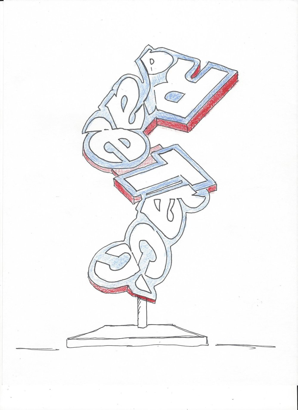 RaceTrac_sign Sculpture Drawing.jpg