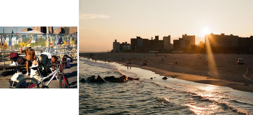 Coney Island, 2009 & 2015