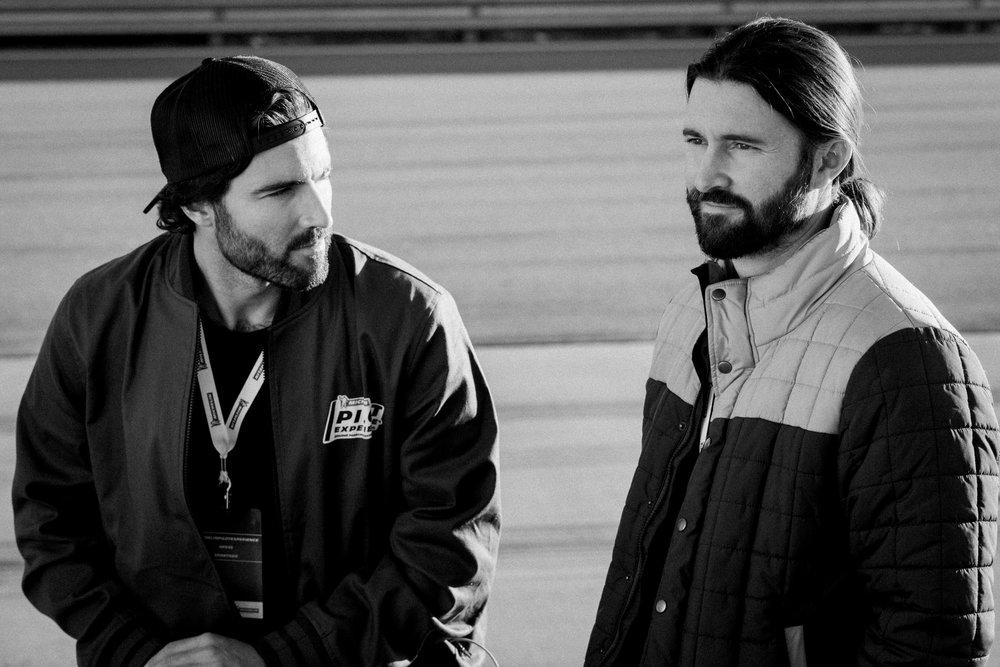 Brody & Brandon Jenner / Pilot Sport Experience x Michelin