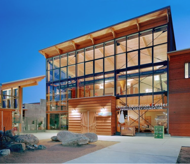 Ocean institute education center architecture contemporary design