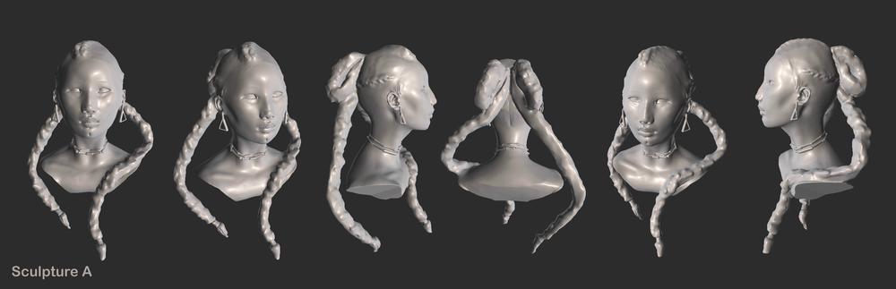 Proprietary sculpture for the Sculptura App https://sculptura.app/