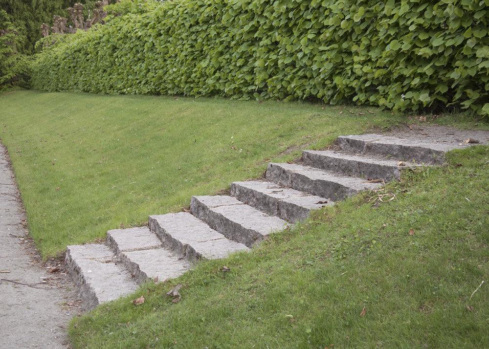 Gulskogen gård trapp