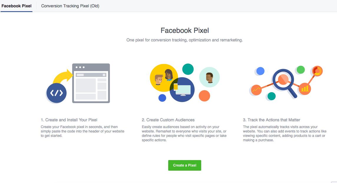 Facebook Create A Pixel