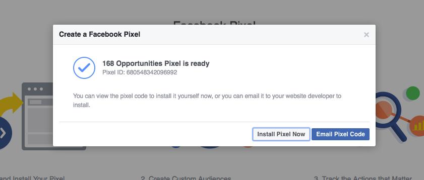 Facebook Install A Pixel