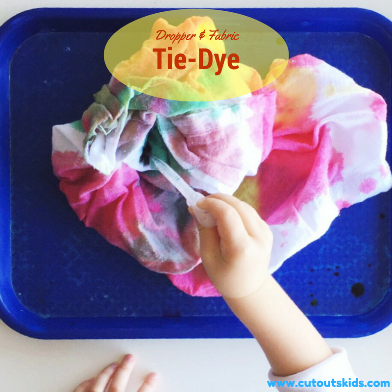pinterest pin tie dye toddlers and preschoolers