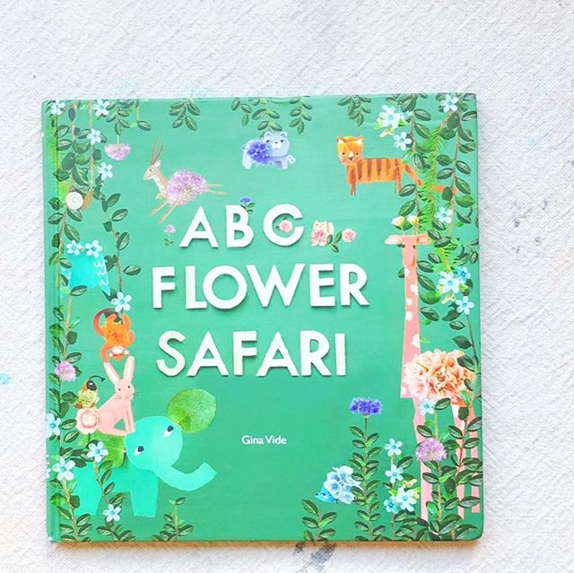 We're going on a flower hunt...we're going to find a BIG one!🌸🌼 . . Have you come across this beautifully sweet new alphabet book, 'A,B,C Flower Safari,' from @willowdaygram ? Every page is filled with her charming collaged illustrations and would make a gorgeous companion for alphabet learning . 🌸🌼 . . Another bit of inspiration for you and all that cardboard, too...😉😂 Go to @willowdaygram and give her a follow. You're in for a treat. Add this book to your next book run. 😍🌸🌼
