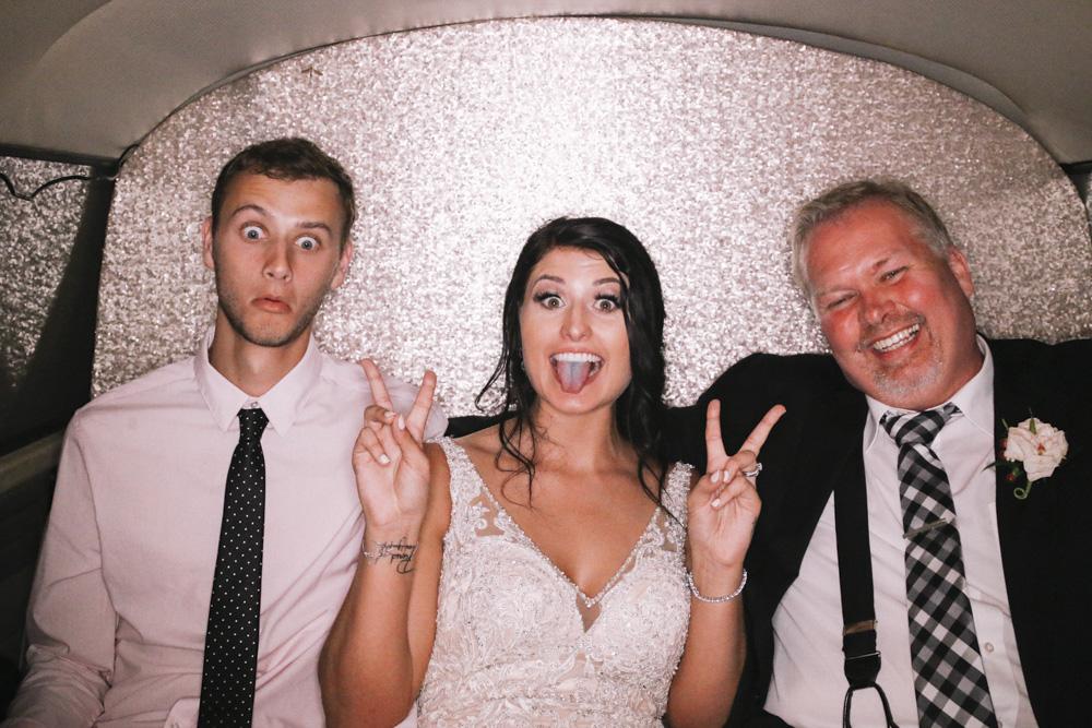 Brenlee Mcpherson wedding shutter bus photo booth