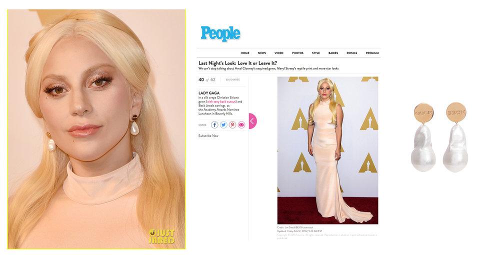 Lady Gaga │ Oscar's Luncheon 2016