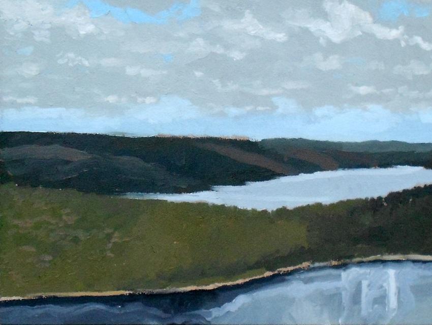 quabbin reservoir / belchertown, ma