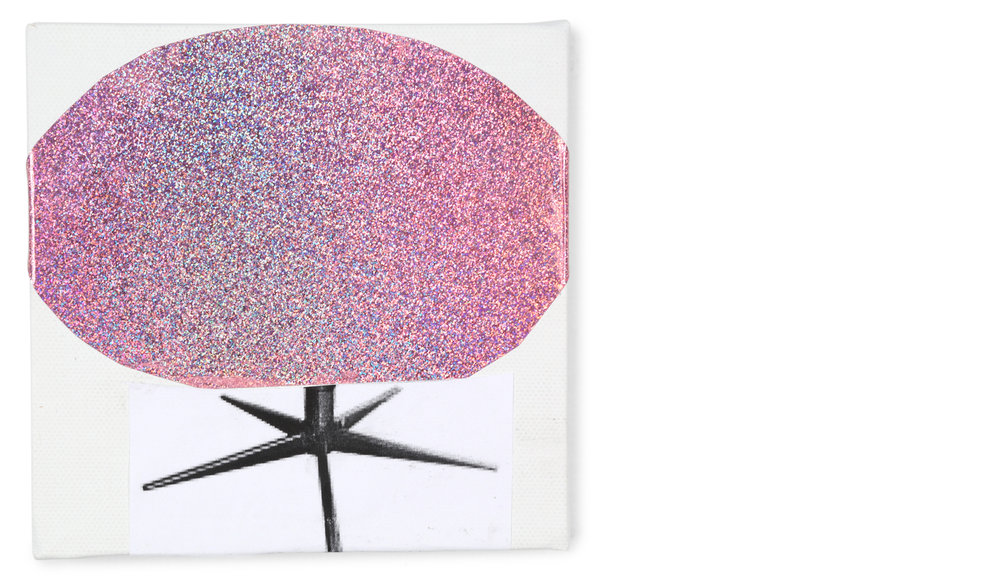 The Sparkly Swivel Chair