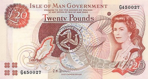 The Isle of Man uses the pound, and you can spend British notes on the Island, you can not however spend the Manx notes in the rest of Britain.
