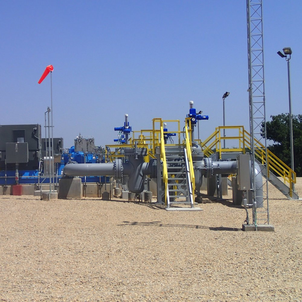 Texas Express Pipeline, Stations