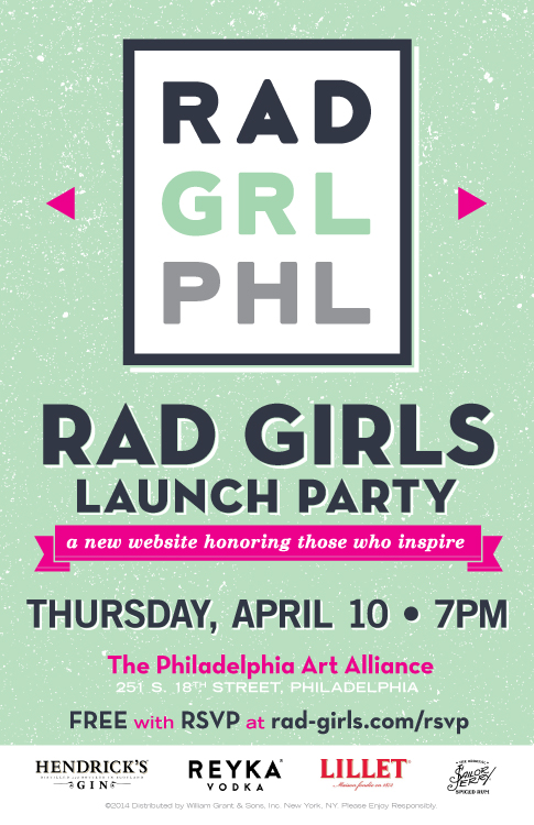 Rad Girls Launch Party