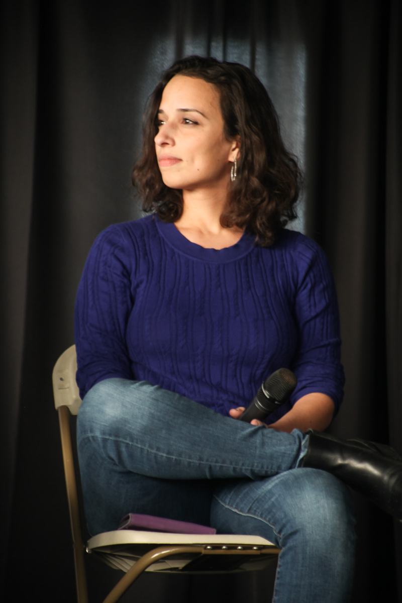 Yasmine Mustafa, CEO & Co-Founder of ROAR for Good.  Photo by Briana Sposato/In Between Rivers