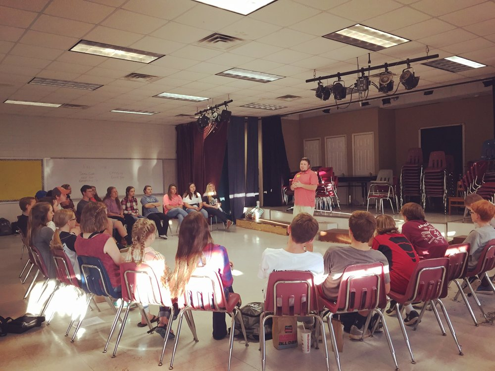 FCA Meeting at LCHS last week - October 4, 2016
