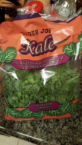 trader joes kale