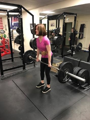 Tina executing her favorite lift!