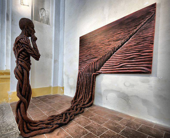 """Escape into Reality"", Artist Michael Trpak"