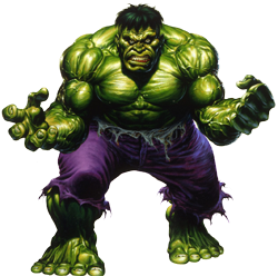 You're more likely to turn green, than to get as big as the Hulk from lifting weights...