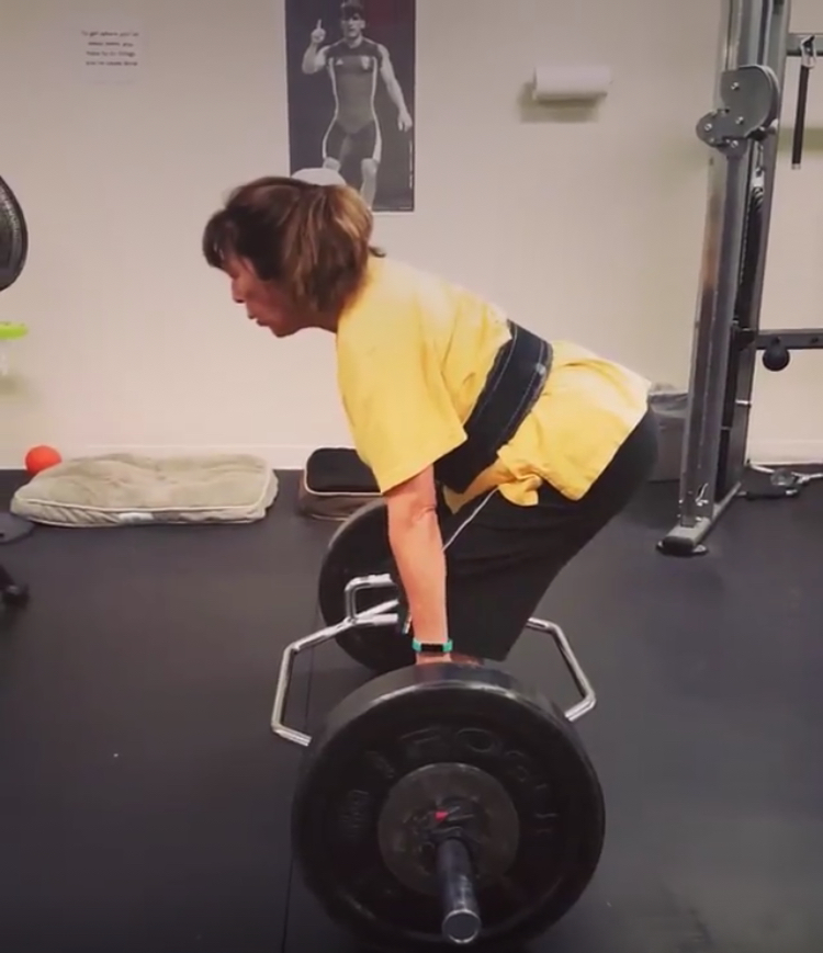 Heavy deadlifts are a high-stimulus exercise. Do them right, like Cathy, and reap the benefits!