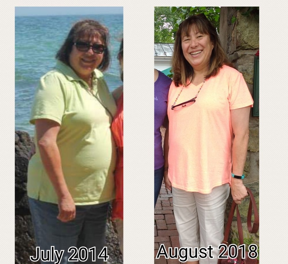 Check out Cathy's changes. Wow, right?!
