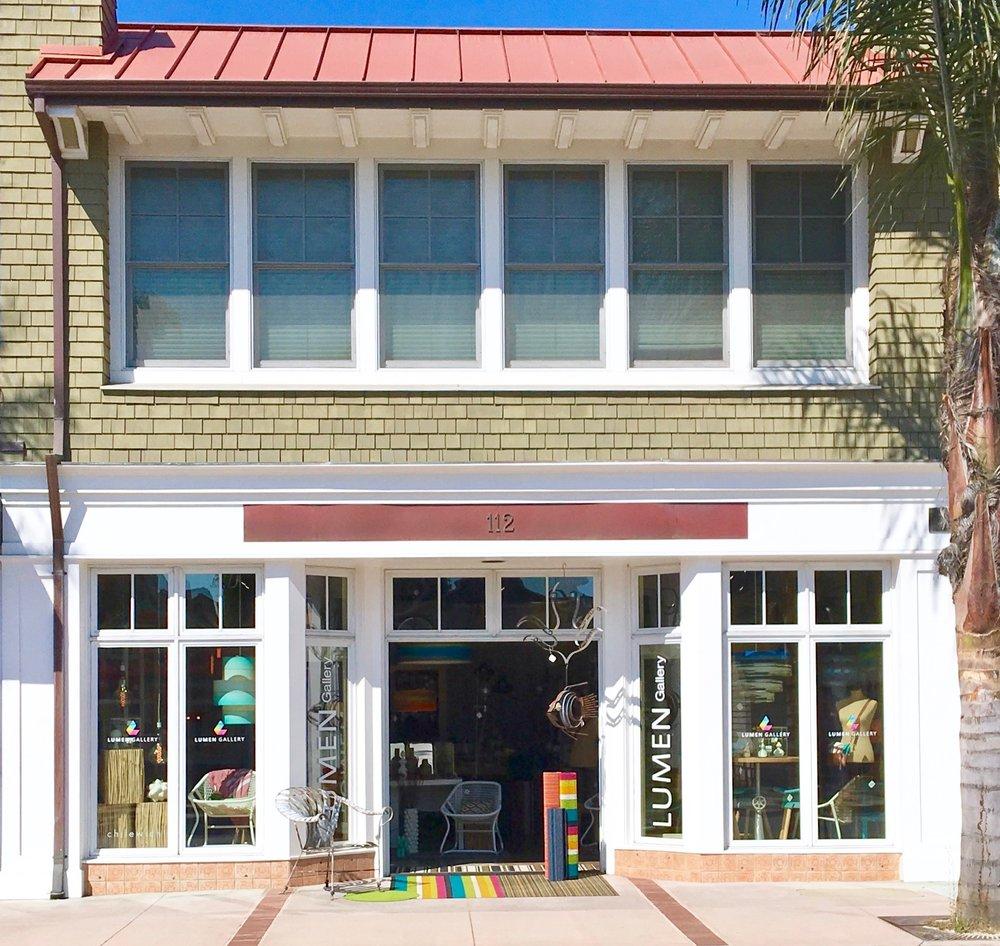 Cierra's store, Lumen Gallery in Capitola Village