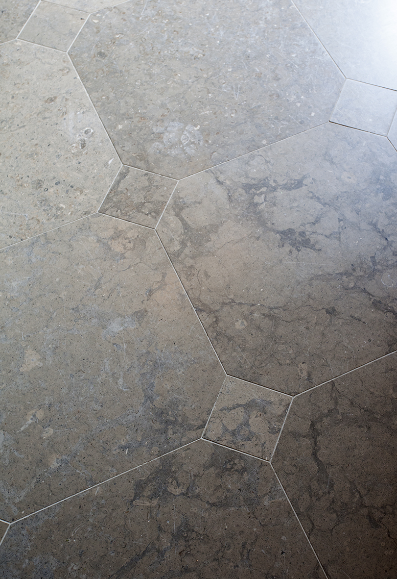 Villa Abelin - golv detalj