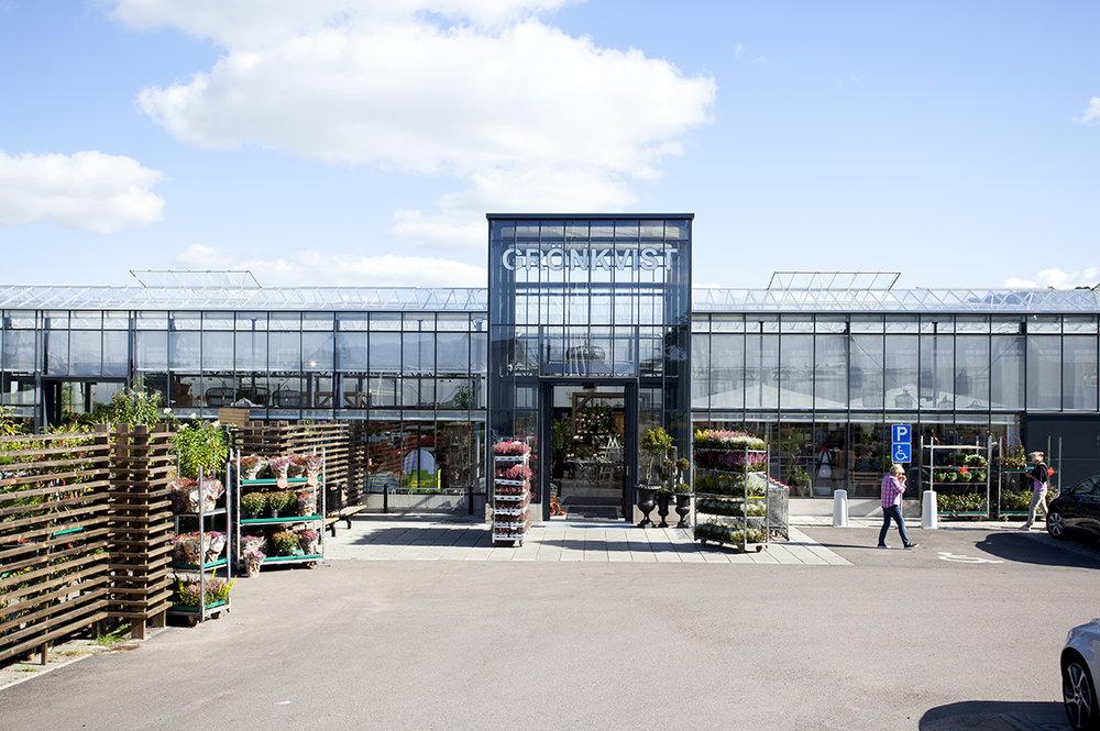 Grönkvist Blomsterhandel - Entré Båstad